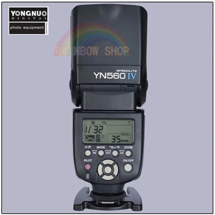 Newest Yongnuo YN-560IV YN560 wireless Flash light Speedlite Speedlight for Canon Nikon Pentax Olympus 3000 D60 D40X D800 D600 yongnuo yn560iv yn560 iv speedlite yn560 iv yn 560iv for canon nikon pentax universal dslr camera wireless flash speedlight