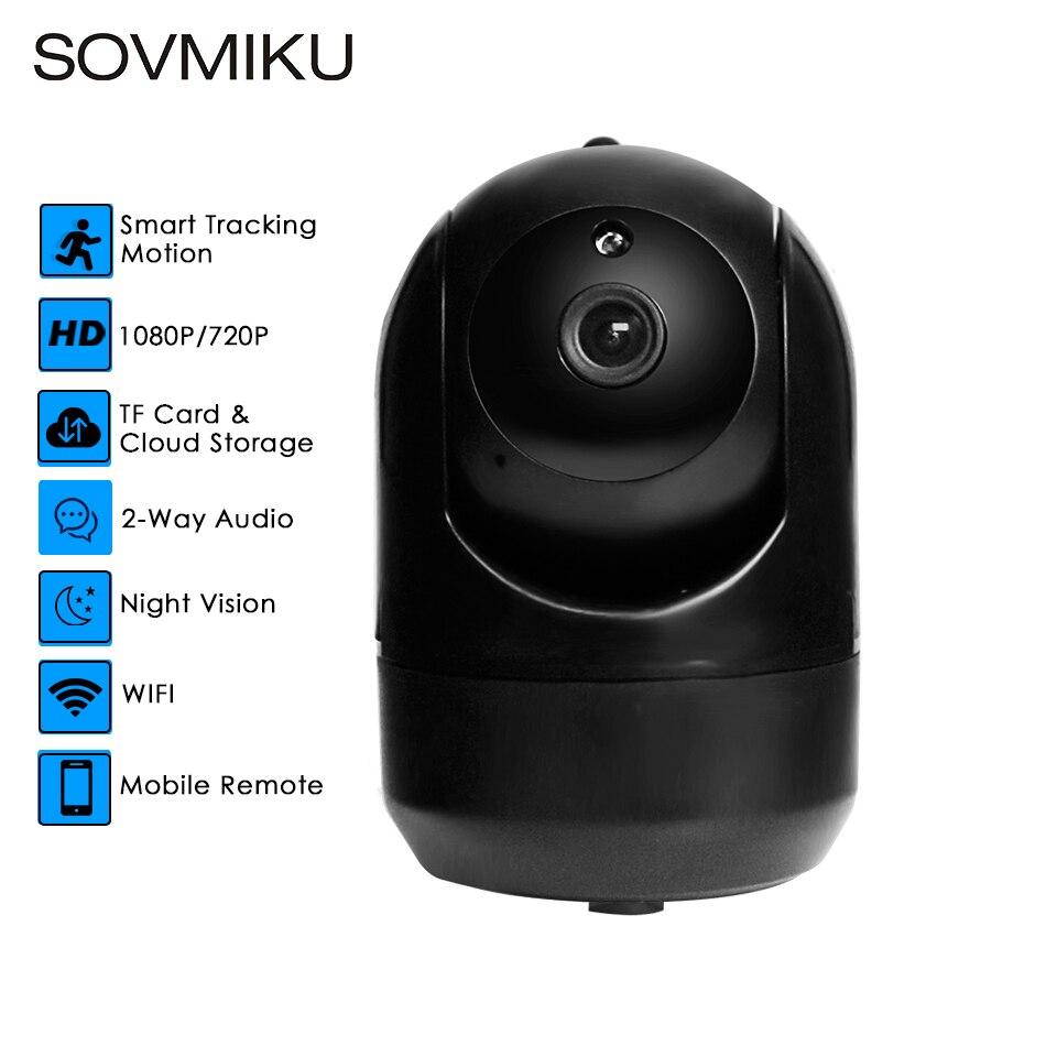 Mini HD 1080P Wireless Cloud IP font b Camera b font Smart Auto Tracking Of Human