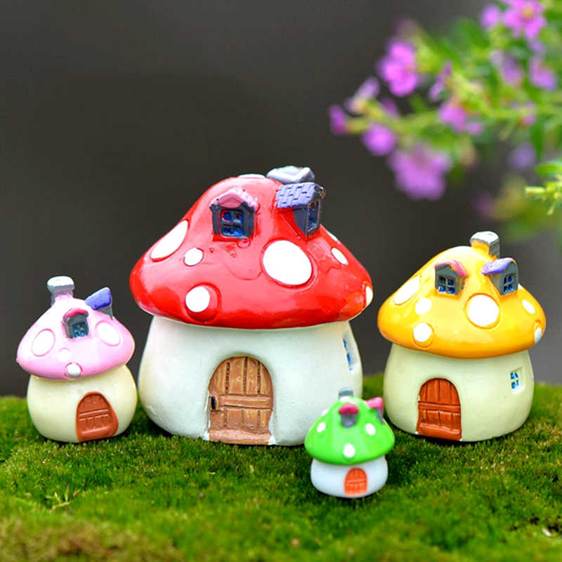 Hot Sale 1PC Popular Garden Ornament Miniature DIY Craft Dollhouse Decor Pot Fairy Micro-landscape Moss Heaviness