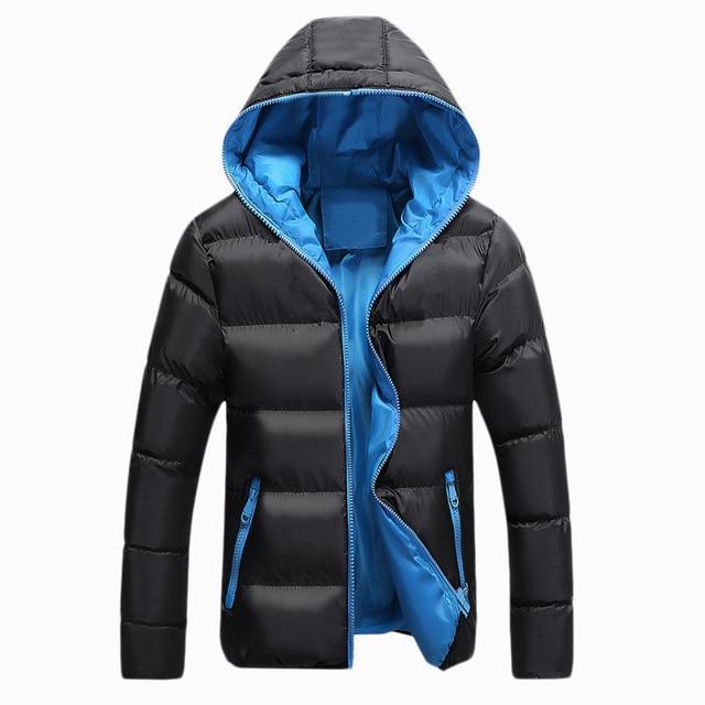 Jackets Men 2019 Winter Casual Outwear Windbreaker Jaqueta Masculino Slim Fit Hooded Fashion Overcoats Homme Plus Size 3