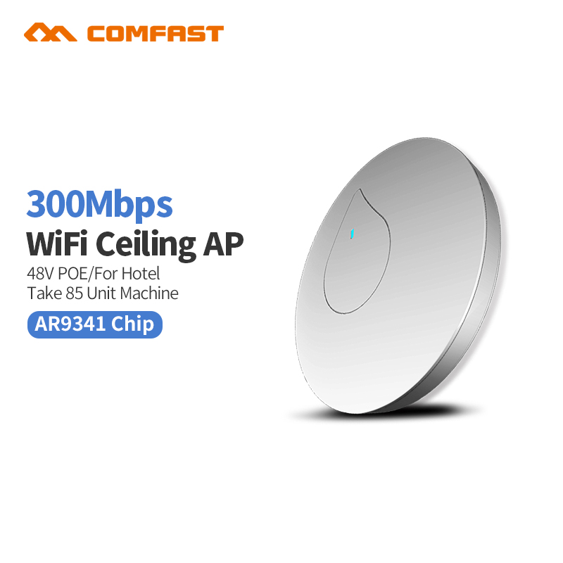 Indoor Starke WiFi Verstärker 300 Mbps Verstärker WiFi Repeater Wifi Signal 2,4G Extender Roteador Mi Drahtlose Router Decke AP