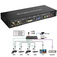 10PCS SDI To ALL Scaler Converter SD SDI HD SDI And 3G SDI Input To HDMI