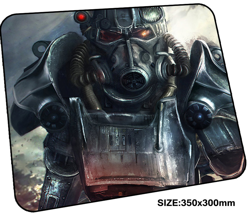 fallout mousepad gamer 350x300x3mm gaming mouse pad locked edge notebook pc accessories laptop padmouse High-end ergonomic mat