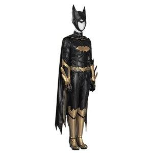Image 4 - MANLUYUNXIAO, Новое поступление, женский костюм, костюм Бэтгерл, карнавальный костюм на Хэллоуин, костюм Бэтгерл для женщин, на заказ, базовый женский костюм