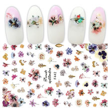 2019 Nieuwe Fashion Mixed Ontwerp Nieuwe Nail Art Sticker Set Decor Manicure nail sticker nail art stickers N1(China)