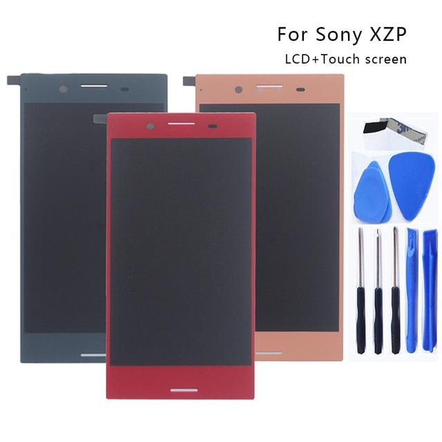 "AAA 5.5 ""LCD עבור Sony Xperia XZ פרימיום G8142 E5563 LCD צג Digitizer עצרת זכוכית עבור Sony Xperia XZP תצוגת LCD צג"