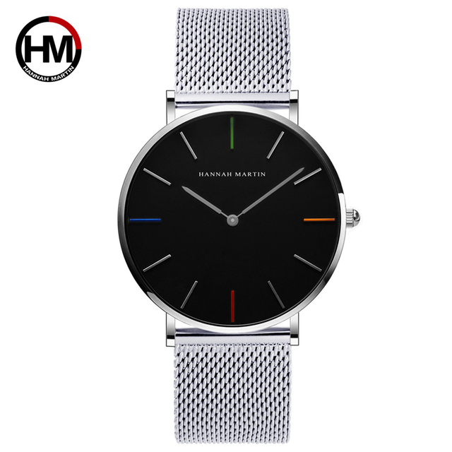 Lovers' Couple Watch For Men Women Luxury Brand Ultra Thin Quartz Male Female Wa