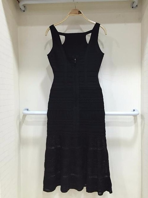 cb45f4bf10ad Shining Beauty Women s Sexy Army Green Black Bandage Dress 2016 ...