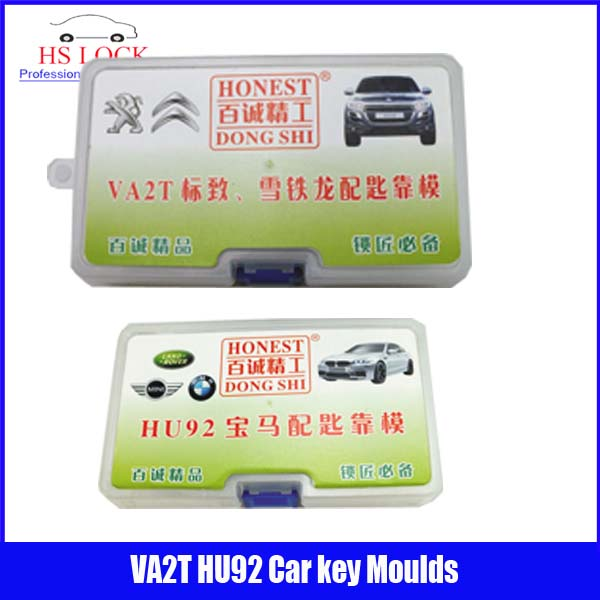 HU92 & VA2T car key moulds for key moulding Car Key Profile Modeling locksmith tools 200pcs lot hu92 car lock reed locking plate hu92 car locks tablets lock spring car locksmith tools