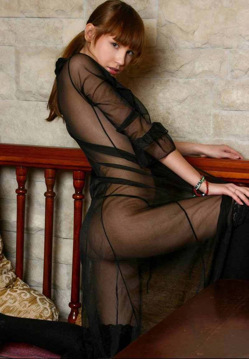 Porn Dress Long Black