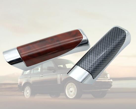 Universal Hand Brake Protector Decoration Cover Carbon Fiber Auto Car Accessory