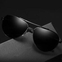BRAND DESIGN Men Classic Pilot Sunglasses Aviation Frame HD Mirror Polarized Sun Glasses For Male Man Driving UV400 Protection все цены