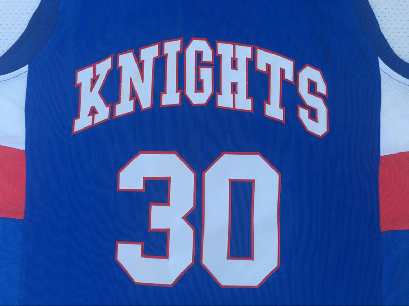 Stephen Curry Jersey 30 Charlotte Christian Knights Basketball Jersey High School Sport Shirt All stitched