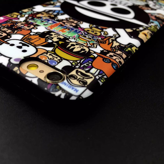 One Piece Soft Gel Phone Cover For iPhone