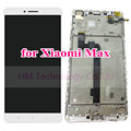 "White LCD+TP+Frame for Xiaomi Mi Max 6.44"" LCD Display+Touch Screen Digitizer Assembly with Frame Phone Part Free Shipping+Tools"