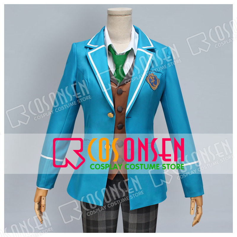 COSPLAYONSEN Ensemble Stars Izumi Sena Cosplay Costume blue full set