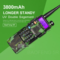 Hot selling BAOFENG UV-5R camouflage 136-174 / 400-520 Mhz Dual Band Walkie Talkie with 3800 mAh li-ion battery Two way Radio
