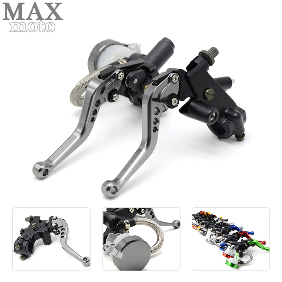 free shipping motorcycle CNC Aluminum Adjustable brake clutch lever& brake pump For bmw R1200R 2006 2007 2008 2009 2010-2014 free shipping motorcycle moped scooter cnc brake lever front