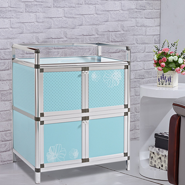 Hi Tao Tao Sideboard Balcony Kitchen Cupboards Storage Cabinets Aluminum  Stove Simple Cabinet Tea Cabinet Lockers