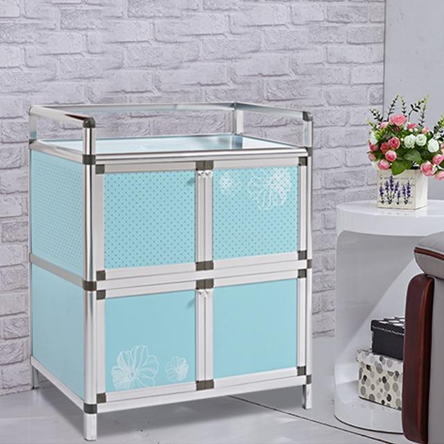 Hi Tao Tao Sideboard Balcony Kitchen Cupboards Storage Cabinets Aluminum  Stove Simple Cabinet Tea Cabinet Lockers