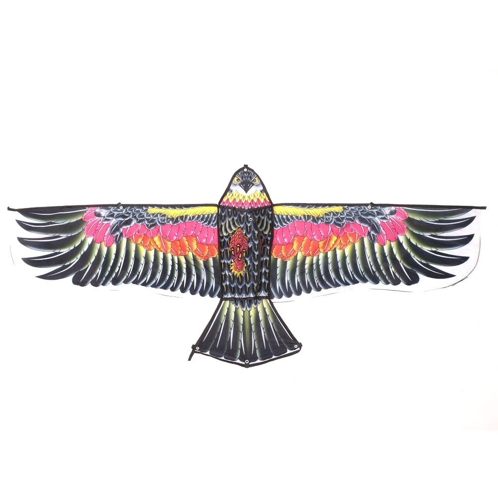 Воздушный змей с орлом, 1,35 м, для активного отдыха, для спорта, Летающий орел, воздушный змей для детей, подарок, новинка, воздушный змей в виде животного, летающий, высокое качество