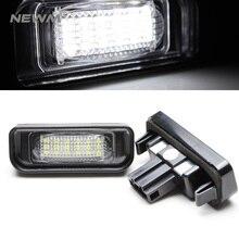 Лицензии свет для Mercedes Benz W220 DC 12 В 18 SMD-3528 номер автомобиля Светодиодный лампа для Benz W220 99- 05 автомобилей номерных знаков свет