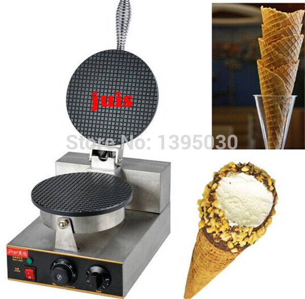 Ice cream cone baking machine electric ice cream cone machine pancake machine business or Household FY-1A 1 pc edtid new high quality small commercial ice machine household ice machine tea milk shop