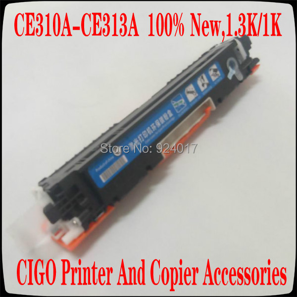 For HP CE310A CE311A CE312A CE313A 126A Toner Cartridge For HP LaserJet Pro CP1025 1025nw M275mfp