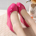 High Heel Autumn Shoes For Women's Platform Wedges Thick Platform Shoe sys-740