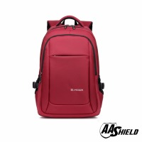 AA Shield Bulletproof Backpack Ballistic Body Armor Safe School Bag NIJ Level IIIA Plate Insert Red