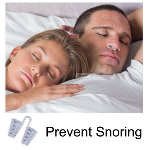 1pc Soft nose Snore Stopper Prevent Snoring Clip Guard Stop Device Solution Vents To Ease Breathing Sleep Nose Care