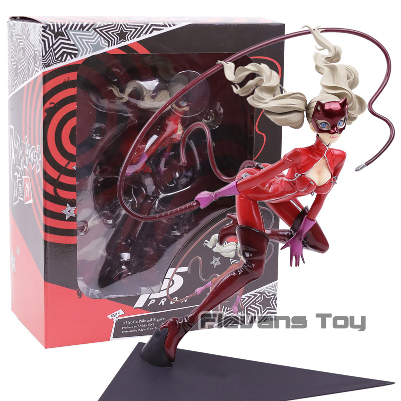 P5 Persona 5 Anne Takamaki Phantom Thief Ver 1/7 Scale Painted PVC Action Figure Collectible Model Toy Doll free shipping sexy 7 tharja sallya saarya fire emblem awakening painted 1 7 scale pvc action figure collection model doll toy