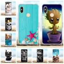 For Xiaomi Redmi S2 Y2 Cover Thin Soft Silicone TPU Case Cartoon Patterned Coque Bumper