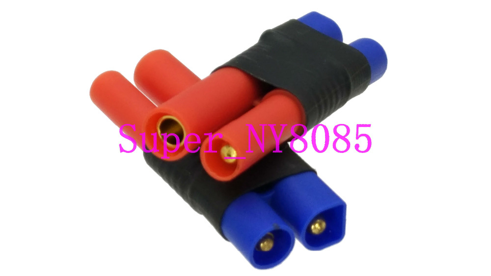 EC3 Male Losi To HXT 4MM Female Adapter Connector 4.0mm 4mm 4 Bullet