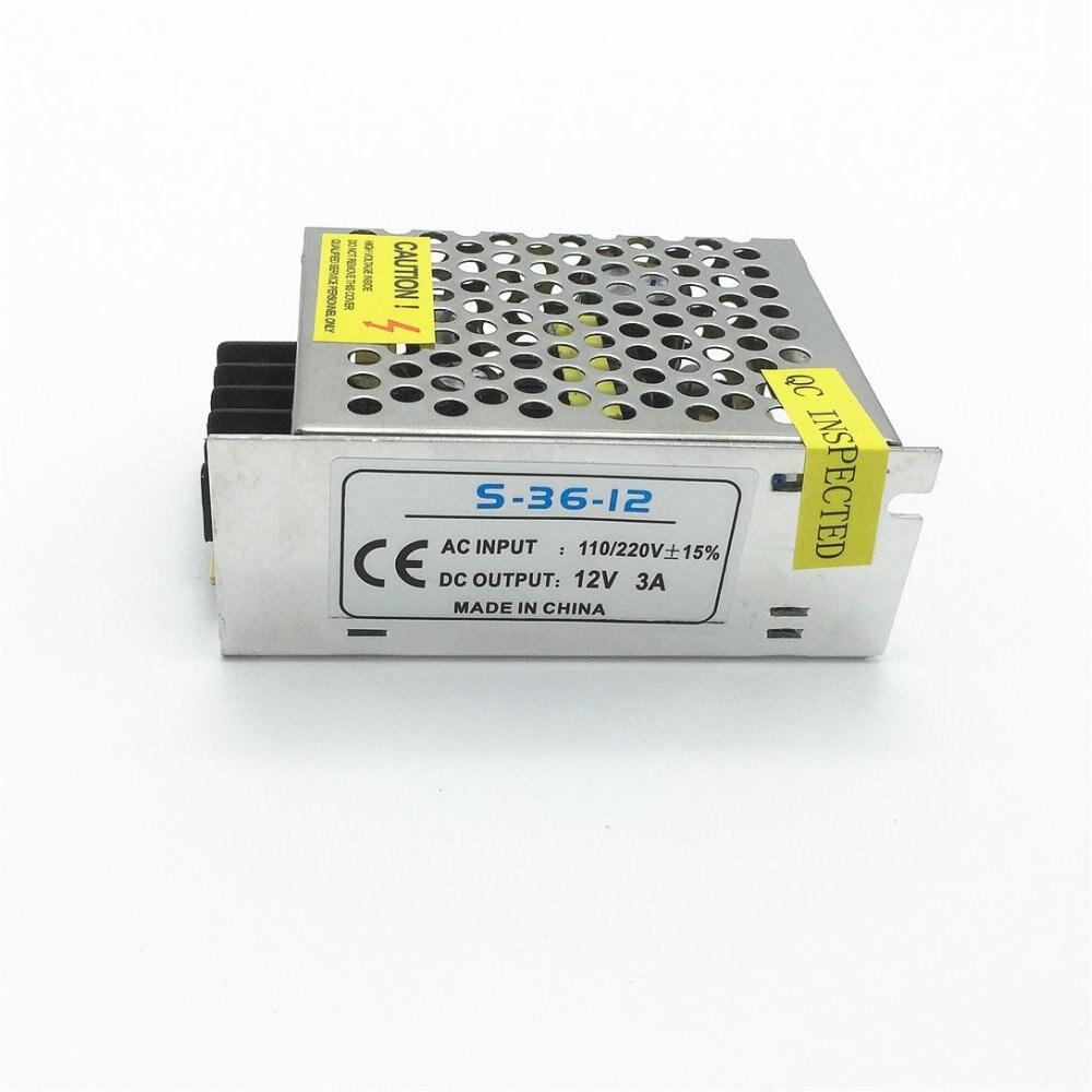 Transformateur d'éclairage 12 V 2A-40A alimentation à découpage 60 W 120 W 180 W 240 W 360 W 480 W adaptateur de pilote de LED pour bande lumineuse