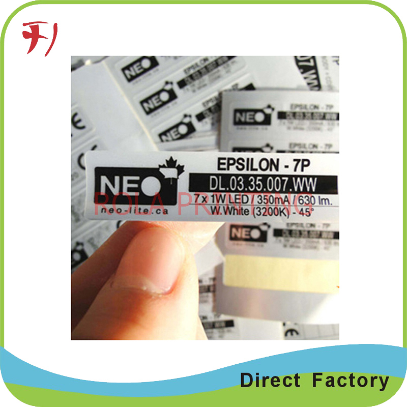 Customized High quality for customzied adhesive upc label