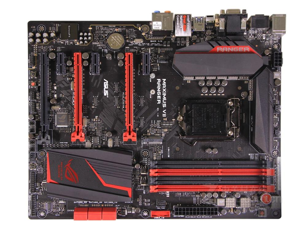 Free Shipping Original Motherboard For ASUS MAXIMUS VII RANGER M7R DDR3 LGA 1150 USB3.0 USB2.0 32GB M.2 Desktop Motherborad