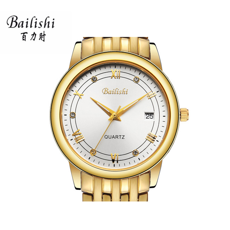 BAILISHI Luxury Brand Clock men Watch Stainless Steel Watches male Fashion Casual Watch Quartz Wristwatch waterproof bailishi diamonds hour stainless steel wrist watch male clock men sports watches men s casual quartz watch waterproof watches