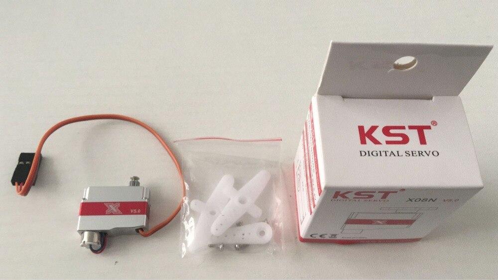 KST X08N V5 3.8-7.4 V 8g métal engrenage Micro numérique Servo pour RC Robot aéronef sans pilote (UAV) avion