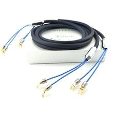 Бесплатная доставка moonsaudio 25th Classic anniversary 770L кабель колонки серебристо-золотые провода с Y разъем
