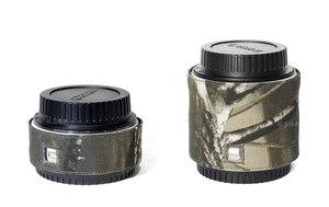 Image 2 - ROLANPRO カメラレンズ迷彩レインカバーレインコート一眼レフカメラ用バーロー銃服カメラバーロー保護スリーブ