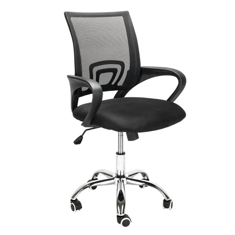 Mesh Back Gas Lift Adjustable Office Swivel Chair Office Meeting Room Chair E5M1