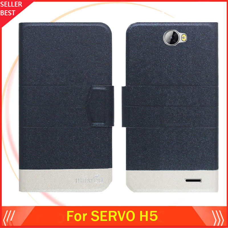 SERVO H5 Cas Ultra-mince Flip De Luxe En Cuir De Mode Exclusif Couverture  de Téléphone Carte Slots Livraison Gratuite dc34857b3adb
