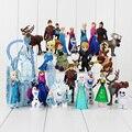 Para a Menina Presente a minha Anna Elsa Bonecas Nova Banda pouco Olaf brinquedos Movable Figuras de Brinquedo de presente de Aniversário Dos Desenhos Animados Dolls & Acessórios poni