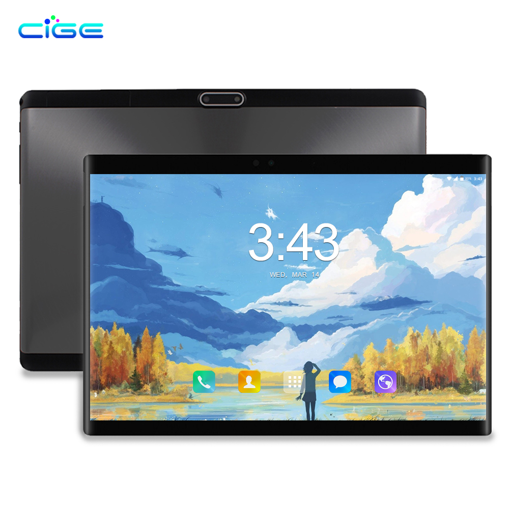 New Design Android Tablets 10.1 inch Android 8.0 Octa Core 1280 x 800 IPS LCD 4G lte Phone Call SIM laptop WiFi 64GB pc Tablet