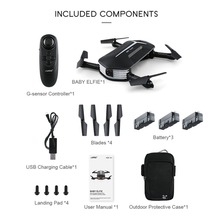 JJR/C H37 Mini BABY ELFIE Drone 2.4G 4CH 6-Axis Wi-Fi FPV Foldable RC Quadcopter With 3 Batteries 720P Camera Altitude Hold
