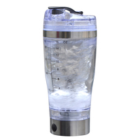 450ml Rechargeable Powder Protein Shaker Cup Electric Automatic Drinkware Inner Lithium Polymer Battery BPA Free My