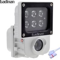GADINAN H.265 2.0MP 1080 P IP Camera 6 pz Array IR o Luce bianca Led Opzionale Esterna Cam di Sicurezza CCTV ONVIF Impermeabile XMEye