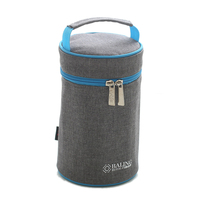 2017 Oxford Cylindrical Sac A Lunch Isotherme Insulation Ice Pack Bottle Sleeve Picnic Lunch Box Lunch Package Bags Cooler Bags
