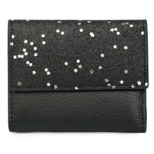 New Arrivals Short Retro Cowhide Practical Star Pattern Women Mini Wallet Hot Brand Luxurious Genuine Leather Zipper Purse 2019